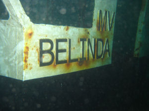 New dive feature - MV Belinda